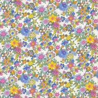Liberty Floral Waltz bleu coloris C 20 x 137 cm