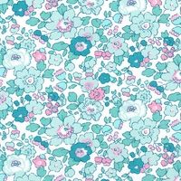 Liberty Betsy Mint 20 x 137 cm (Exclusive Alice Caroline collection)