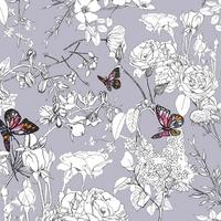 Jersey Grid Pixelfly Eden Lilac 20 x 150 cm