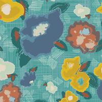 Tissu voile de coton Artisan Ad Lib Blooms Quiet 20 x 132 cm