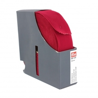 Ceinture élastique 38mm rouge x 10cm