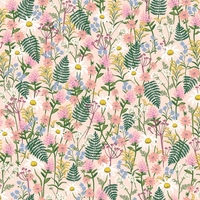 Tissu Wildwood Wildflowers Pink 20 x 110 cm
