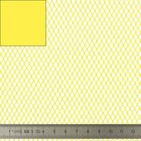 """Tissu Filet Mesh pour """"sac à vrac"""" coloris jaune 20 x 137 cm"""