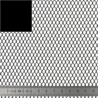 COUPON de mesh coloris noir 50 x 137 cm