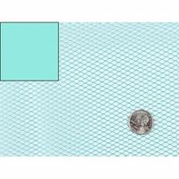 """Tissu Filet Mesh pour """"sac à vrac"""" coloris turquoise 20 x 137 cm"""