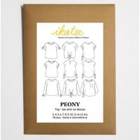 Patron blouse PEONY 3-12A