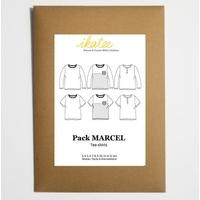 Patron tee-shirt MARCEL 3-12A