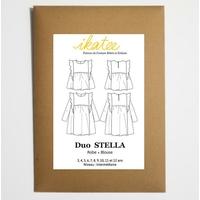 Patron blouse et robe STELLA 3-12A