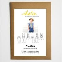 Patron pantalon ou short AVANA 3-12 ANS