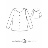 Patron blouse Vertige (34-48)