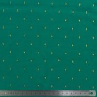 Viscose plumetis vert 20 x 140 cm