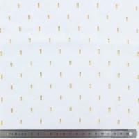 Viscose plumetis blanc 20 x 140 cm