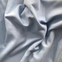 Maille polo piqué de coton coloris ciel 20 x 2m