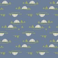 Tissu Art Gallery Fabrics Safari Moon Village Horizon 20 x 110 cm