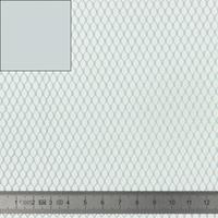 """Tissu Filet Mesh pour """"sac à vrac"""" coloris gris 20 x 137 cm"""