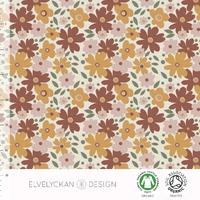 Jersey Miniflora Rusty 20 x 160 cm