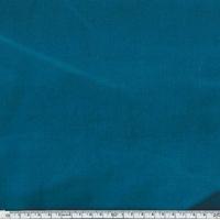 Velours lisse coloris Paon 20 x 140 cm