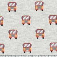 Sweat léger Camions de pompier 20 x 140 cm