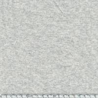 Bord côté gris chiné très clair assorti au jersey coton/spandex 20 x 72 cm