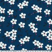 Viscose Spring coloris Blue 20 x 140 cm