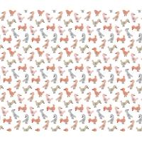 Tissu Dwelling petits oiseaux 20 x 110 cm