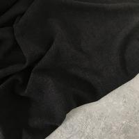 Tissu lin et viscose coloris noir 20 x 130 cm