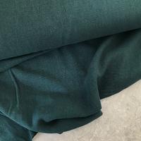 Tissu lin et viscose coloris vert anglais 20 x 130 cm