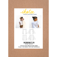 Patron blouse ou tee-shirt HIBISCUS 3-12 ANS
