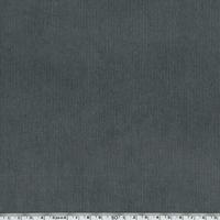 Velours milleraies stretch gris moyen 20 x 140 cm