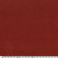 Velours milleraies stretch coloris rouille 20 x 140 cm