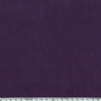 Velours milleraies stretch coloris aubergine 20 x 140 cm
