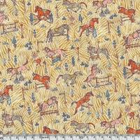 Liberty Gymkhana moutarde coloris B 20 x 137 cm