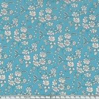 Liberty Capel bleu vert coloris N 20 x 137 cm