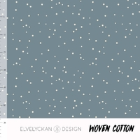 Tissu Spots Blue 20 x 160 cm