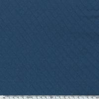 Jersey matelassé 100% coton coloris denim 20 x 145 cm