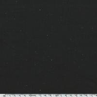 Sweat moucheté noir 20 x 140 cm