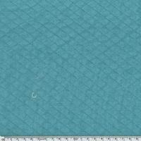Jersey matelassé océan 20 x 140 cm