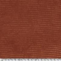 Jersey velours rouille 20 x 150 cm