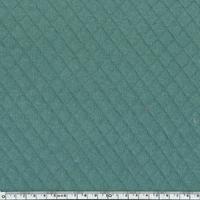 Jersey matelassé 100% coton coloris eucalyptus 20 x 145 cm