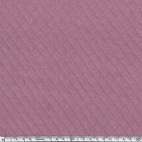 Jersey matelassé 100% coton coloris parme 20 x 145 cm