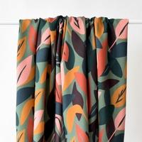 Viscose Sous bois coloris Lichen 20 x 140 cm