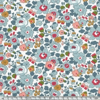 Lainage Liberty Lantana Betsy porcelaine coloris A 20 x 145 cm