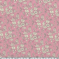 Lainage Liberty Lantana Capel rose coloris A 20 x 145 cm