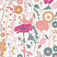Jersey Flower Field Bachelorette 20 x 150 cm