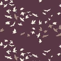 Tissu Voile de coton Aves Chatter Dim 20 x 132 cm