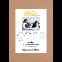 Patron combinaison pyjama mixte GABY 3-12 ANS