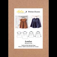 Patron robe LOUISE 3-12 ANS