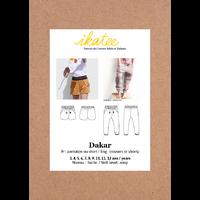 Patron pantalon/short DAKAR 3-12 ANS