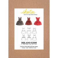 Patron robe MILANO KIDS 3-12 ANS