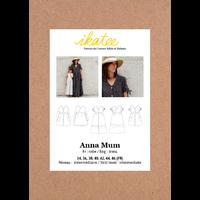 Patron robe ANNA MUM 34-46
